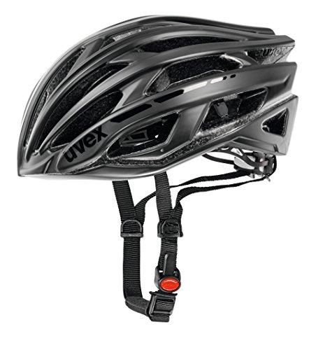 Uvex Race 5 Casco de ciclismo, Unisex adulto, Negro Mate, 52-56 cm