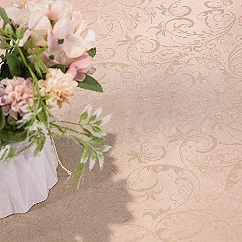 Kuingbhn Mantel de Tela Antimanchas Arte Anti Escaldado y Duradero Impermeable Disponible en Varias Medidas Dorado 90×150cm