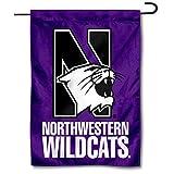 Northwestern Wildcats Garden Flag Yard Banner