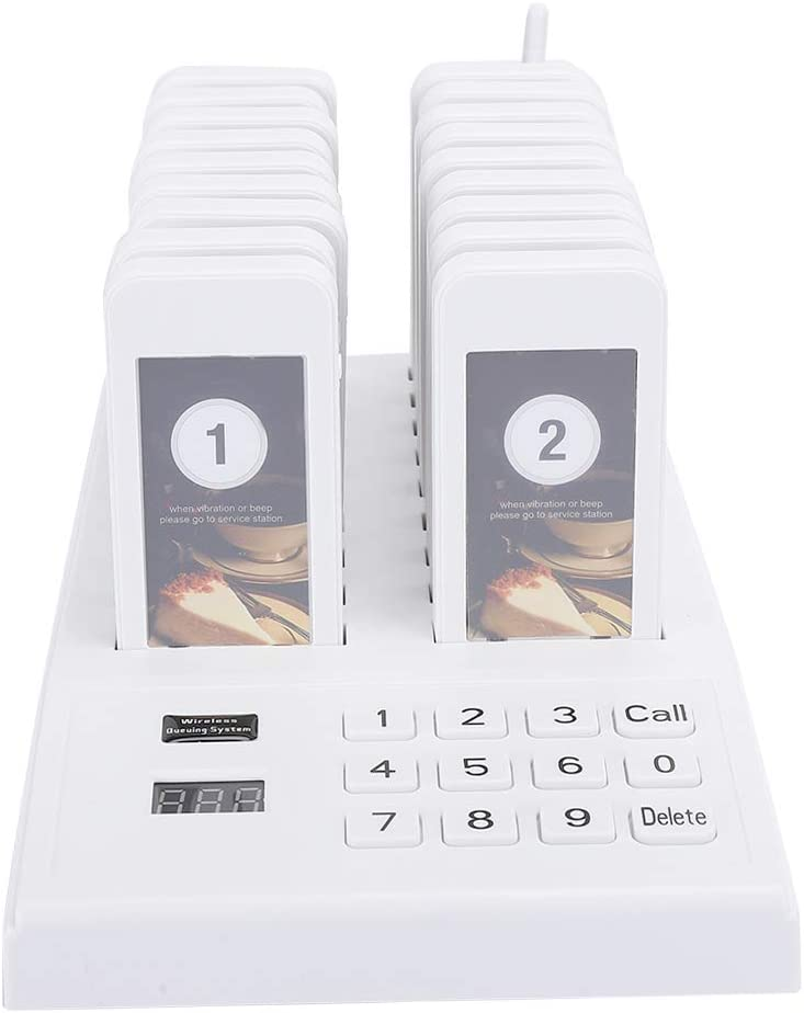 18 Pager Very popular! Buzzers Wireless Calling System Signal Ultra-Cheap Deals Cu Queue