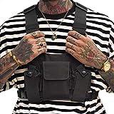 Clape Universal Radio Walkie Talkie Brusttasche Harness Pack, Hands Free Weste Chest Rig Bag Geschirr Taschen Rucksack
