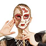 Venetian Mask On Stick Mardi Gras Mask for Women/Men Masquerade Party Prom Ball Halloween Party Cosplay Favors