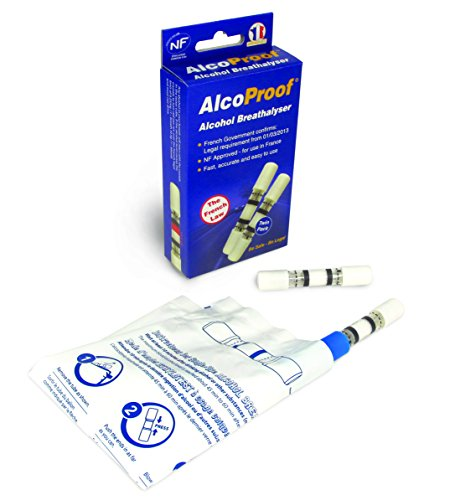 Alcoproof [UK-Import] Alcohol Breathalyser