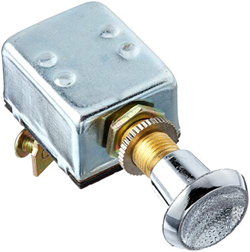 Calterm 42200 Switch, Chrome Push-Pull Switch