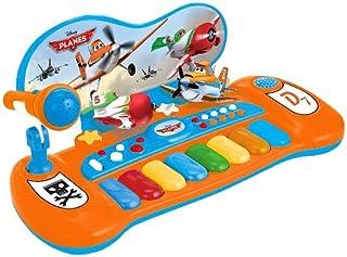 Reig 5345 - Teclado para niños, tema Aviones Disney (importado)
