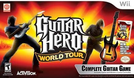$149 Get Wii Guitar Hero World Tour Guitar Kit