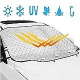 Leaflai, copertura per parabrezza auto, protezione da neve, protezione solare impermeabile per neve, polvere e ghiaccio