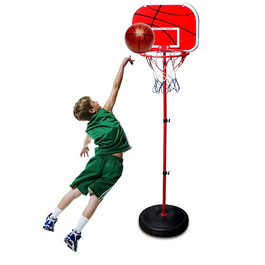 Kids EasyScore Basketball Set Both Indoor and Outdoor Sports Toys Adjustable Basketball Hoop Toy Set