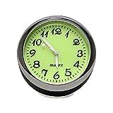 Itimo lumineux montre à quartz de voiture Mini horloge de voiture Car-styling Décoration de voiture mécanique automobile Ornaments Résidence universitaire (Horloge)