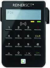 REINER SCT cyberJack RFID Chip-Kartenlesegerät standard   Generator für Online-Banking (HBCI / FinTS / EBICS); Elster; Per...