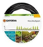 GARDENA Micro-Drip-System Tropfrohr oberirdisch 4.6 mm : Tropfschlauch zum oberirdischen