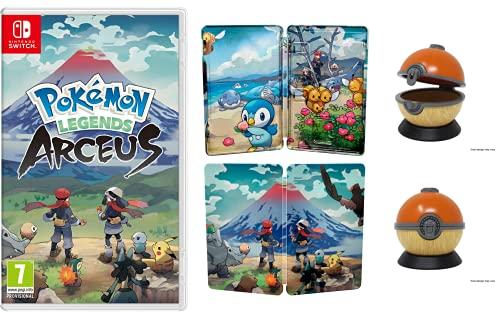 Pokemon Legends Arceus (Nintendo Switch) + Steelbook + Ball Cartridge