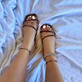 LYYJF Sandalias con Punta Abierta Mujer Tacón Plano Respirable Zapatos con Plataforma de Verano Talla 36-43,Snake Print,37