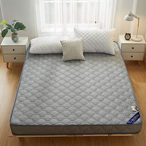 Colchón de espuma viscoelástica de 8 cm, transpirable, cómodo, colchón de futón, grueso japonés, tatami, sin productos químicos nocivos, 150 x 200 cm