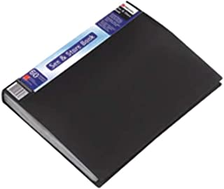 Rexel 327617 See and Store Display Book A4 Black (60 Pockets)