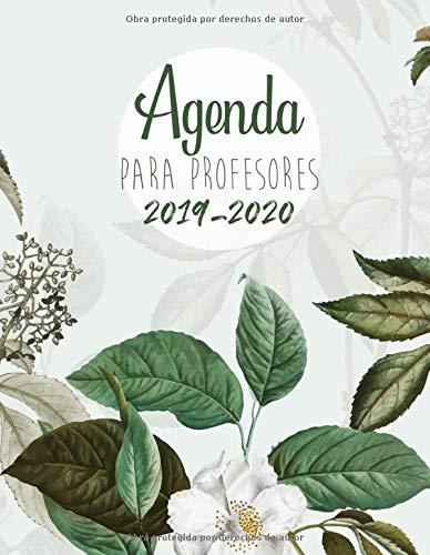 Agenda Para Profesores 2019 - 2020: Agendas Escolares para Profesores - Cuaderno del Profesor y Agenda 2019 - 2020 | Práctico Organizador para docentes - Regalo para Profesora