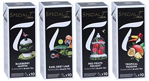 Special.T - mélange de fruits de thé noir (4 types de 10 capsules)