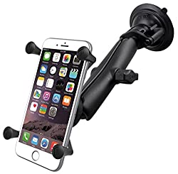 RAM MOUNT X-Grip Large Phone Mount with RAM Twist-Lock Suction Cup Base
