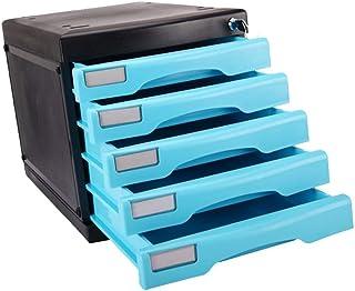 4ème étage Armoire à tiroirs en plastique Fournitures de bureau Trieuse de papier Gestionnaire de stockage en armoire 12-30
