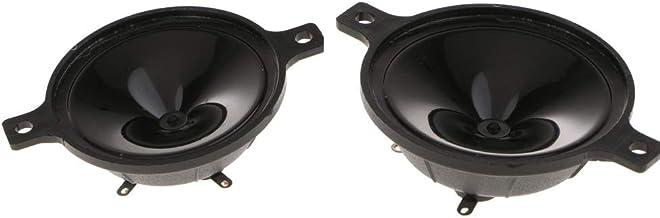 Homyl 2-Inch 2.5-60KHz Ultrasonic Piezo Horn Speaker Tweeter (Pack of 2)