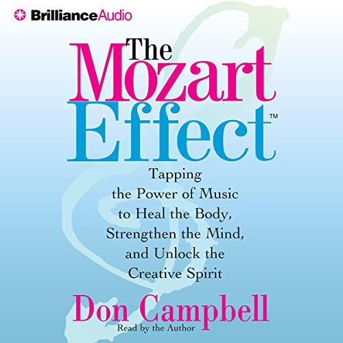 The Mozart Effect audiobook cover art