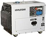 Generatore di corrente diesel 5,2 Kw Hyundai silenziato 65231