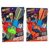 Hasbro a0366es1–Nerf Vortex aero Howler Football Verde, attività all' aria aperta g...