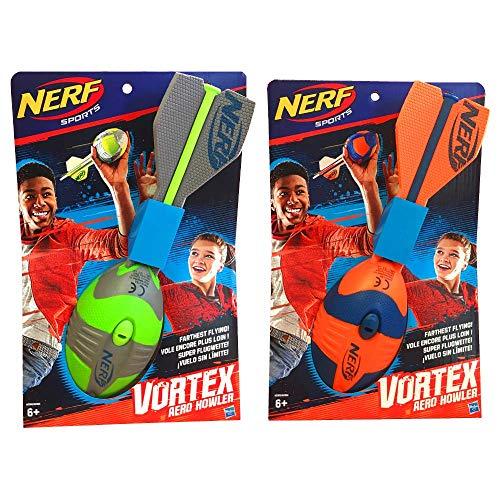 Hasbro A0366ES1 - Nerf Vortex Aero Howler Football Outdoorspielzeug, farblich sortiert