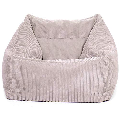 """Icon Übergroßer Sitzsack-Sessel """"Morgan"""", Cord, Sitzsäcke für das Wohnzimmer, Schlafzimmer, Sitzsäcke für Erwachsene"""
