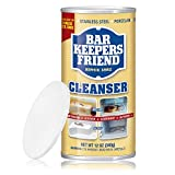 Bar Keepers Friend Multipurpose Powdered Cleanser with Tight Seal Closing Lid (12-Ounces)