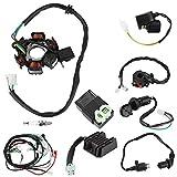 Broco Faisceau de câblage électrique Kit redresseur relais Magneto Stator for GY6 150cc 125cc