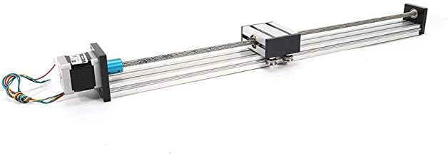 TFCFL 200mm Travel Length Linear Stage Actuator CNC Linear Actuator Stage Lead Screw Slide Rail Guide with 42 Stepper Motor US Warehouses