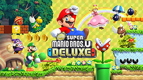 New Super Mario Bros U Deluxe - Nintendo Switch [Digital Code]