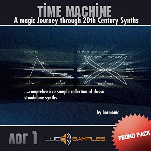 Music Production Dies ist gratis Promo Pack von Time Machine vol.1 - Große Bibliothek von Unique Yamaha DX7 Sounds. Download Classic Standalone  
