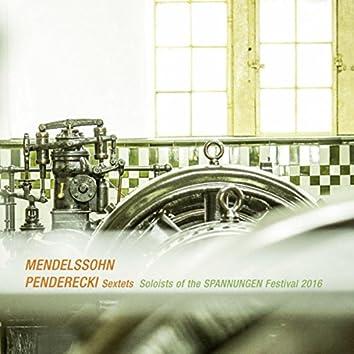 Mendelssohn & Penderecki: Sextets (Live)