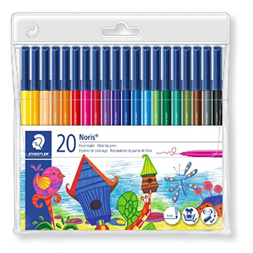 Staedtler 326 Wp20 Pack De 20 Rotuladores Set De 20