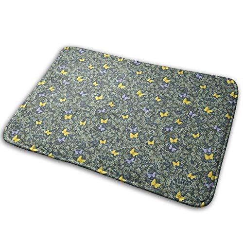 Schmetterling Koordinate Fußmatte Anti-Rutsch-Haus Gartentor Teppich Türmatte Bodenpolster