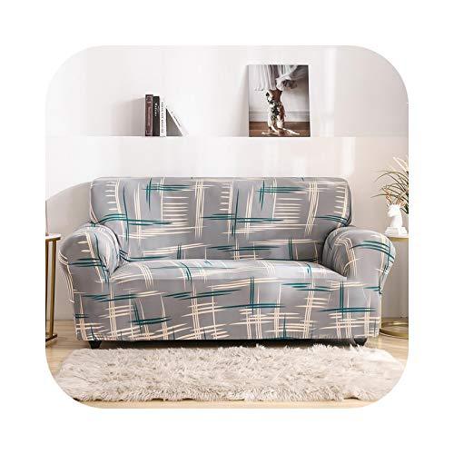 Sofabezug, modern, Sofa-Überwurf, komplett mit elastischen Möbeln, flexible Bezüge, Sessel, SC097-3, 190-230 cm, 1 Stück