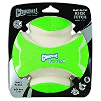 Chuckit KICK FETCH Max Glow in the Dark Kick Ball Dog Toys Small Rechargeable 3D
