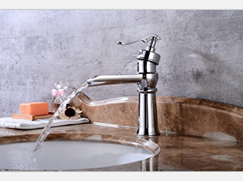 MangeooEuropische Taiwan Waschbecken Waschbecken footwall veliger Einzel Doppel kaltes und warmes Wasser zu polstern, tippen Sie auf