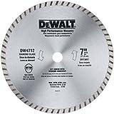 DEWALT Diamond Blade for Masonry, 7-Inch (DW4712B)