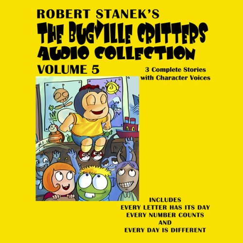 Bugville Critters Audio Collection 5 audiobook cover art