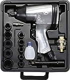 Kraftmann 3211 | Pistola de impacto con juego de herramientas | 12,5 mm (1/2') | 312 Nm | 16 piezas