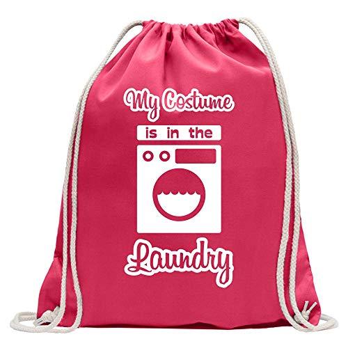 Kiwistar Costume is in The Laundry - Mochila de deporte, de algodón, con correa, rosa, Talla única