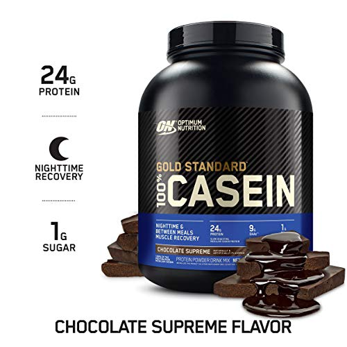 OPTIMUM NUTRITION GOLD STANDARD 100% Micellar Casein Protein Powder,...