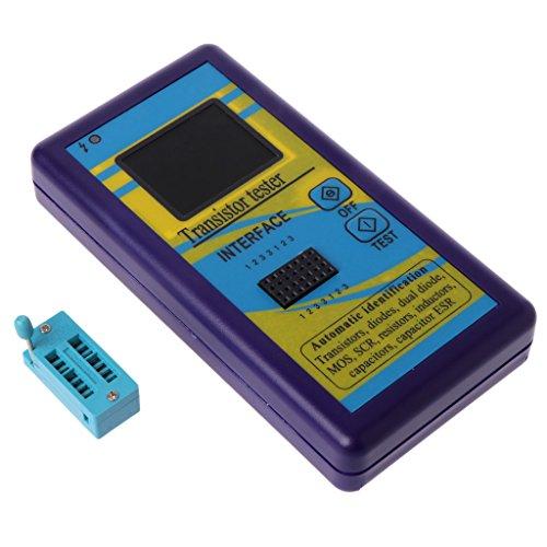 XIGAWAY M328 Probador de transistor multiusos Diodo Resistor ESR Capacitancia LCR Medidor