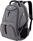 SwissGear 1900 Scansmart TSA Laptop Backpack - Grey Heather