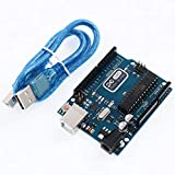 プレイズ Arduino UNO R3 互換基板 ATmega328P ATmega16U2 USBケーブル付属 アルディーノ マイコン 電子工作