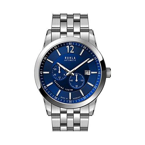 Uhr - Automatik - Ruhla 31003M - blau/silberfarben