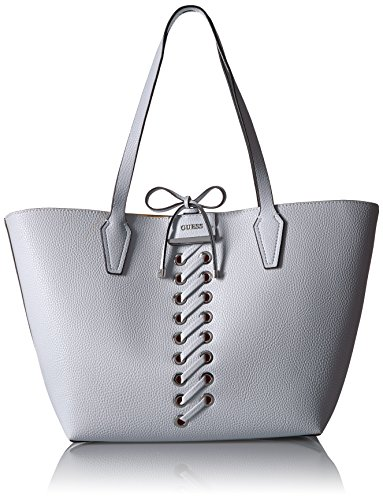 Guess Bobbi Inside Out - Bolsa de deporte, color blanco y amarillo, Multi color (Blanco/Amarillo), Talla única